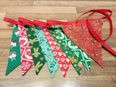 Traditional colours Christmas bunting from Nanny Buntings on Facebook Christmas Bunting, Christmas Colors, Buntings, Colours, Traditional, Facebook, Bunting Garland, Christmas Swags