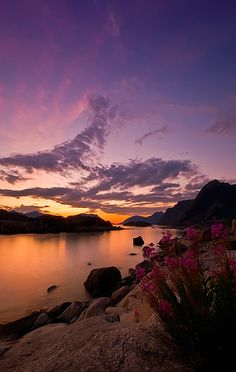 Henningsvær, Austvågøy~Lofoten Islands, Norway (photo by Johnny Myreng Henriksen, Harstad, Norway)....