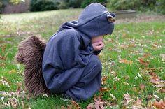 Squirrel Halloween costume-yes, please.