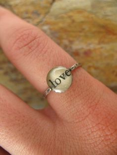book worm ring, SO cute for those of us who love to read!