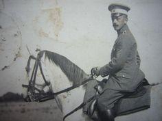 PORTRAIT Foto LUDWIGSLUST Mecklenburg - Offizier zu Pferde   Sammeln & Seltenes, Militaria, 1871-1918.