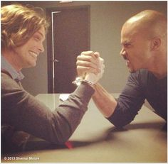 Shemar Moore's photo: IT'S CRIMINAL MINDS WEDNESDAYS!!!!!!! READY - SET - GO!!!!