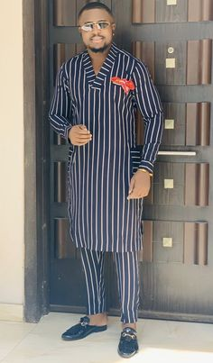 Hello here are some cute outfits for the men. African Wear Styles For Men, African Shirts For Men, African Dresses Men, African Attire For Men, African Clothing For Men, Mens Clothing Styles, Nigerian Men Fashion, Indian Men Fashion, African Print Fashion
