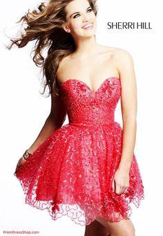 Sherri Hill Short 2528 at Prom Dress Shop