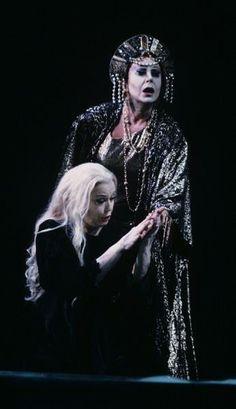 Gwyneth Jones&Helga Dernesch in 'Elektra';S.Francisco,1991