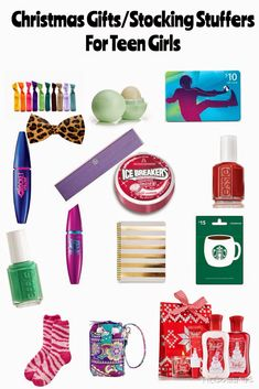 What to Buy Your Friends for Christmas/Stocking Stuffers for Teen Girls