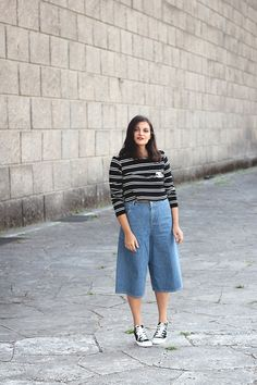 OUTFIT | JEANS CULOTTES www.dressupforarmageddon.com