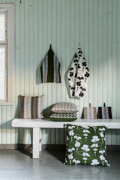 Aapiste - Design by Riikka Kaartilanmäki Entryway, Collections, Textiles, Traditional, Prints, Furniture, Design, Home Decor, Entrance