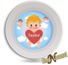 Heart Kids Tableware Bird Dinnerware Plate Set Owl Baby Dishes Set Melamine Dish Set Valentine/'s Day Kids Plate Children Tableware Set