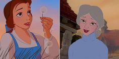 What the Charming Disney Princesses Look Like In Old Age
