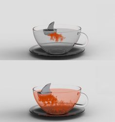 shark tea infuser.