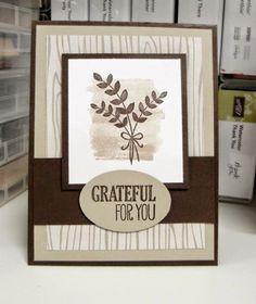 Stampin' Studio: Grateful For You!