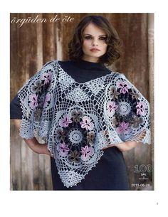 Poncho Crochet pattern by DoileysDelight on Etsy
