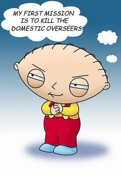 Stewie Griffin from Family Guy -