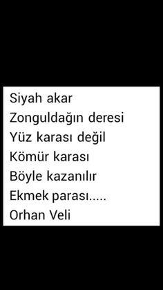 Siyah akar Zonguldagın deresi Orhan Veli Kanık