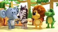 Raa Raa the Noisy Lion: very cute show about a lion and his other jungle friends doing everyday stuff, much of it musical.