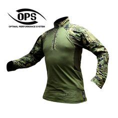 OPS Gen 2 Improved Direct Action Shirt US4CES Woodland