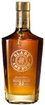 Blade and Bow Kentucky Straight Bourbon Whiskey, DIAGEO's newest brand within its American Whiskey portfolio pays homage to the Stitzel-Weller Distillery in Louisville, Kentucky.