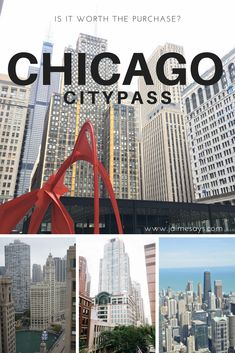 The #Chicago #Citypass is a pricey investment when visiting the city.  What places can you visit? What is included?