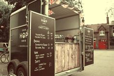 The Hop Box is a specialist mobile bar service offering quality 'craft beer' sourced from some of the most exciting independent micro-breweries in the UK, and around the world. We provide a unique aesthetic, serving draught beer from a modified Horse Box trailer.