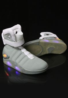 6ab210be86c1 Back To The Future Light-Up Shoes Nike Air Mag