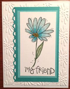Gift for PEO meeting raffle - 6 of 6 Made with Stampin Up In Full Bloom stamp set