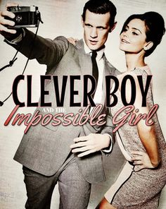 Jenna Coleman & Matt Smith:   Clever Boy and the Impossible Girl