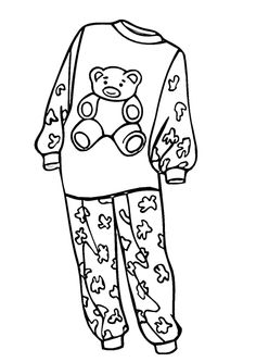 28 trendy doll clothes patterns free printables coloring pages Mazes For Kids Printable, Printable Crafts, Free Printable Coloring Pages, Free Printables, Coloring Sheets, Coloring Books, Pyjamas Party, Pj Day, Pajama Day