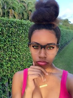 Black Girls R Pretty 2   ...and those glasses are bomb!