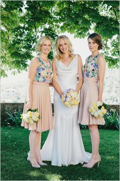 I detest pink, but I am in love with these bridesmaid dresses. Can I get one to just wear around town?