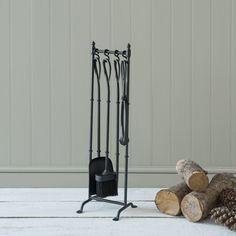 Our charming Portland Companion Set  £199.00 #fireside #companionset #christmashearth