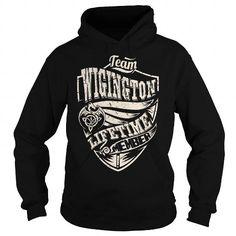 I Love Team WIGINGTON Lifetime Member (Dragon) - Last Name, Surname T-Shirt T shirts