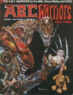 "omercifulheaves: ""ABC Warriors Art by Simon Bisley "" Simon Bisley, Comic Book Characters, Comic Book Heroes, Comic Character, Comic Books Art, Abc Warriors, 2000ad Comic, Comic Art Community, Robot Concept Art"