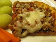 Weight Watcher's Deep-Dish Pizza Casserole - 7 points per serving on WW Point Plus Program. 6 servings.
