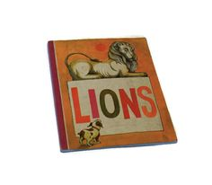Rare vintage 1971 Lions reader book by classicchoices on Etsy, $8.00