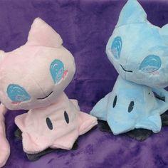 """mimimew"" plush - mimikyu x mew pokemon plushie Pokemon Mew, Pokemon Fusion, Cute Stuffed Animals, Dinosaur Stuffed Animal, Kawaii Room, Plush Pattern, Cute Plush, Mermaid Blanket, Minky Fabric"