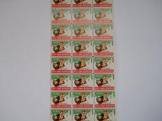 Father Flanagan's Boys Home. Boys Town, Nebraska  1956 Annual Seal Stamp