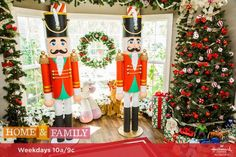Bigger is better with these Life-sized Nutcrackers! For more Christmas DIYs, tune in to Home & Family weekdays at 10a/9c on Hallmark Channel!