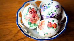 Декупаж своими руками: оригинальный способ украсить яйца на Пасху