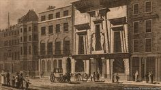 William Bullock's Egyptian Hall on Piccadilly, 1816.