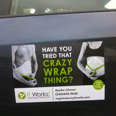 If you haven't heard about It works...you will, we are global shipping all across the country and several other countries. It works is coming to your town