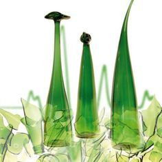 Second Life - Upcycling  Glasdesign aus Finnland