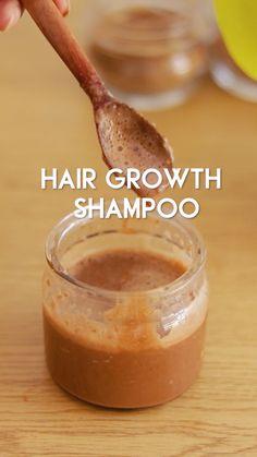 Diy Hair Treatment, Natural Hair Treatments, Hair Growth Treatment, Homemade Hair Treatments, Natural Hair Growth, Natural Hair Styles, Hair Growth Mask Diy, Hair Growth Shampoo, Diy Hair Shampoo