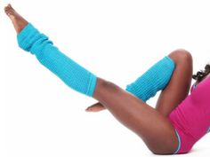 Leg warmers. I wore these in the 80's to aerobics class at Leo's Roller Rink in Kirksville!