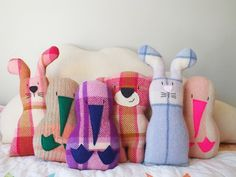 These delightful Kiwi are handmade in Christchurch from vintage wool blankets and felt, small enough to send overseas and a wonderful gift for a child, . Kiwiana, Beautiful Gifts, Lucky Charm, Vintage Wool, Woodland Animals, Wool Blanket, Dinosaur Stuffed Animal, Gifts For Her, Felt