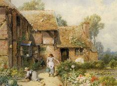 bumble button: Beautiful Cozy English Country Cottages and Gardens Free Images for your ATC,Scrap booking and creating