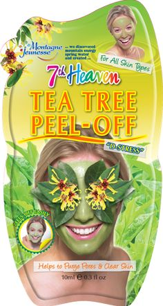 Face Mask || Tea Tree Peel-Off- Helps to Purge Pore & Clear Skin (for all skin types)