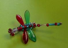 Dragonfly brooch pin ritzglitz555