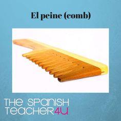 El peine, the comb