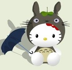 Hello Totoro.... my heart stopped when I saw this...literally!